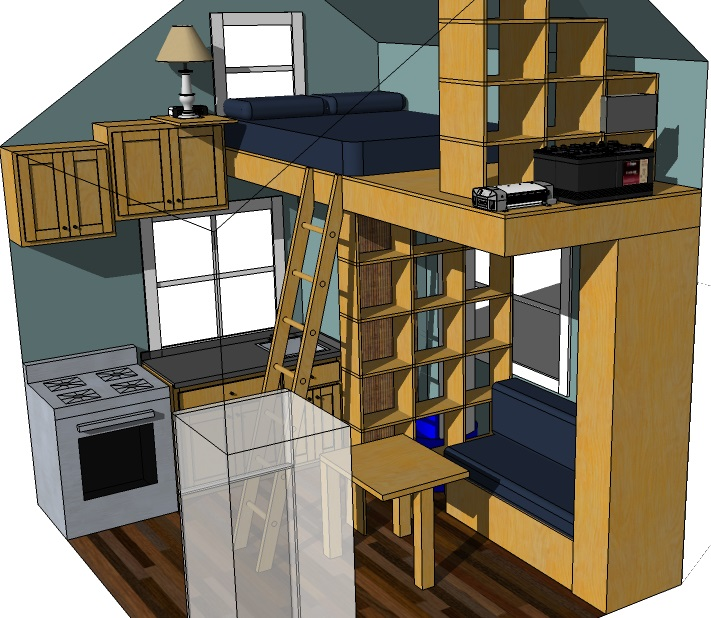 Tiny Eco House Plans By Keith Yost Designs