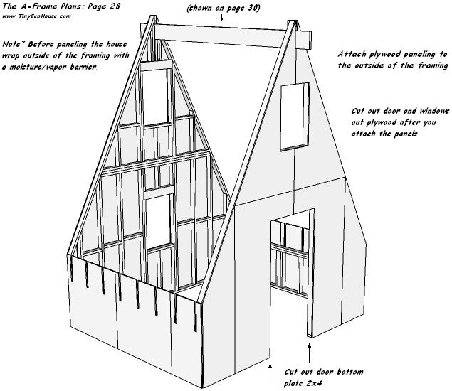 Tiny Eco House Plans - By Keith Yost Designs