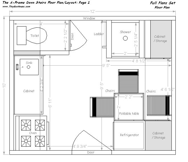 Wondrous Tiny Eco House Plans By Keith Yost Designs Largest Home Design Picture Inspirations Pitcheantrous