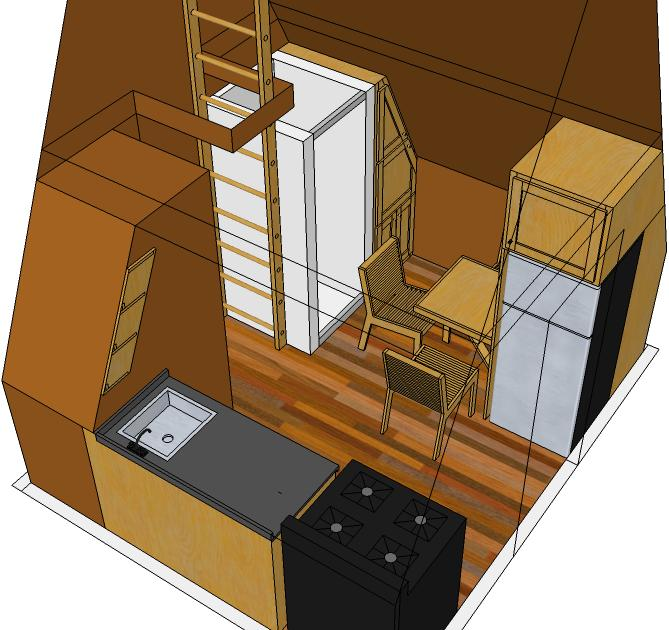 tiny eco house plans  by keith yost designs, Tiny Houses